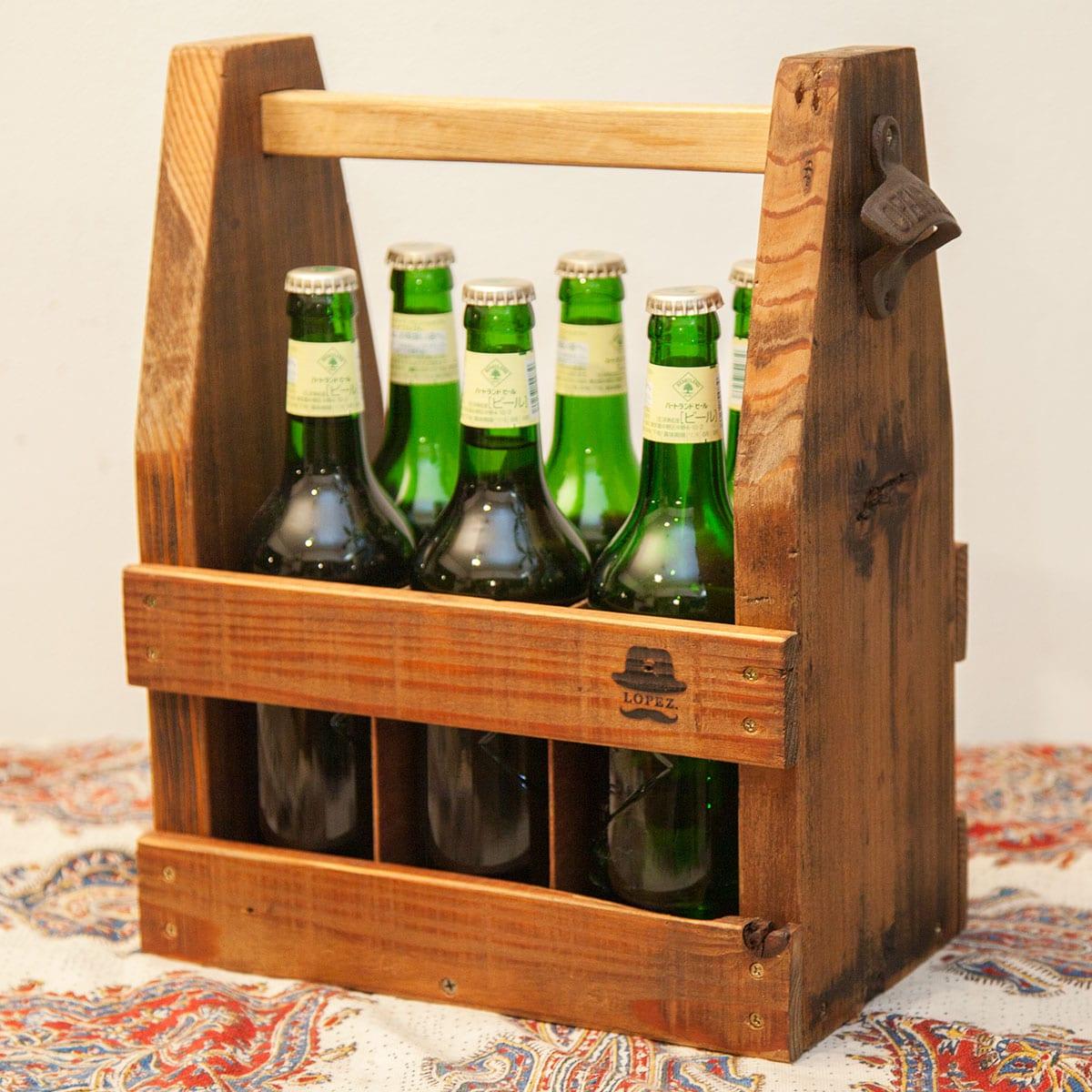 中瓶用の瓶ビールケース
